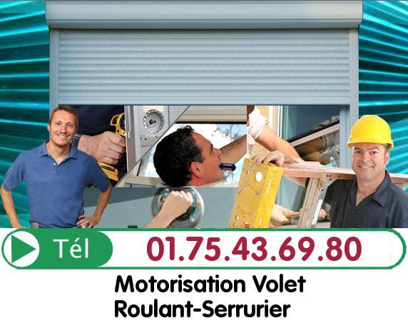 Deblocage Rideau Metallique Vaux sur Seine 78740